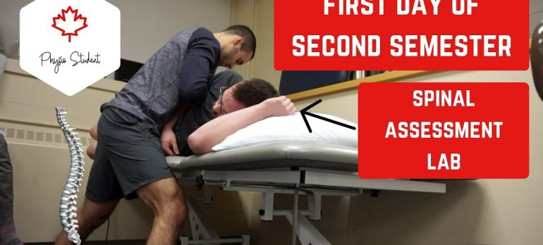 DAY IN THE LIFE OF A PHYSIOTHERAPY STUDENT IN CANADA | WEEK 1 | SEMESTER 2